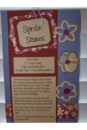 Sprite Scones