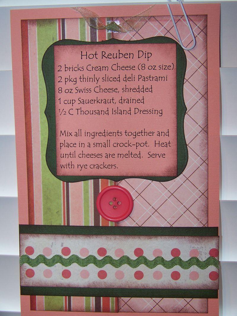 Hot Reuben Dip