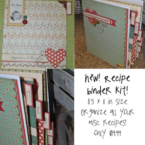 Organize Binder Kit