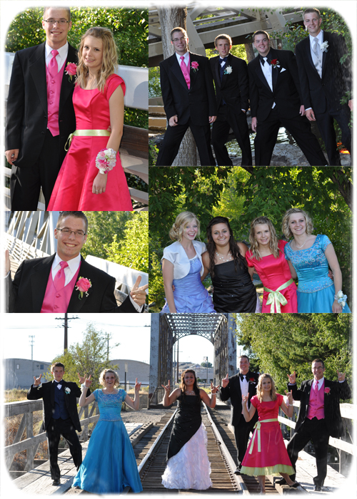Homecoming collage