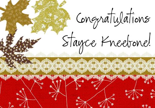 Gratitude Blog Winner