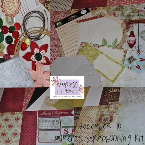 December '10 Moments Kit