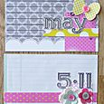 May 2011 Everyday Memories Journal Cards