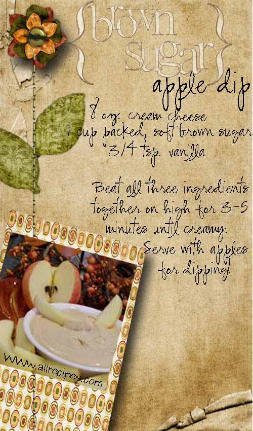Brown Sugar Apple Dip