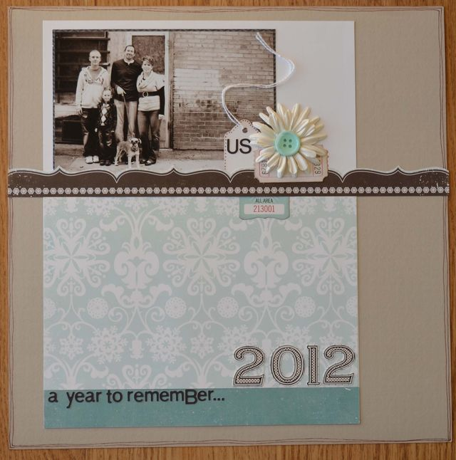 2012 Everyday Memories Cover Page