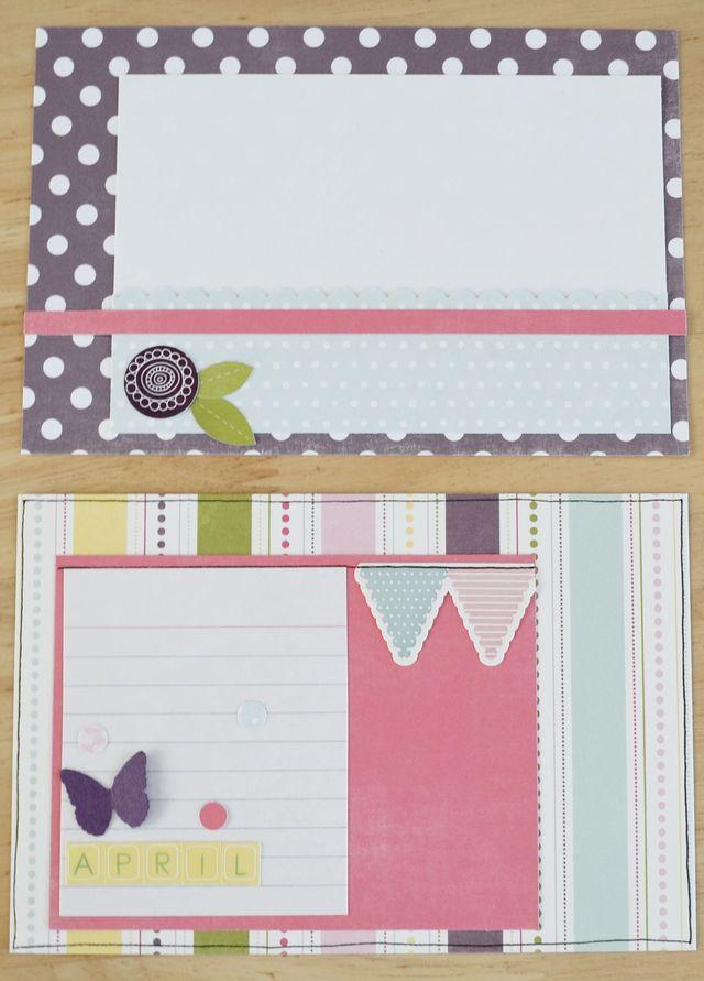 April 2012 Journal Cards 1 & 2