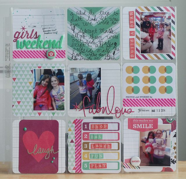 March 2014 Everyday Memories Kit