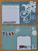 January 2012 Everyday Memories Journal Cards