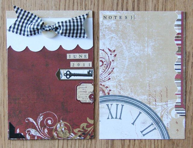 June 2011 Everyday Moments Journal Cards 1 & 2