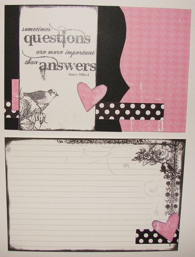Project Life Inspired Journal Cards ETM Style!